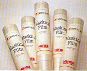 HANSA Masking-film and cutter, opaco